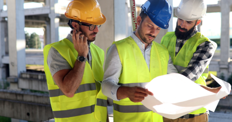 Cooling Tower Safety Certified Technicians reviewing cooling tower specs - Cooling Tower Experts
