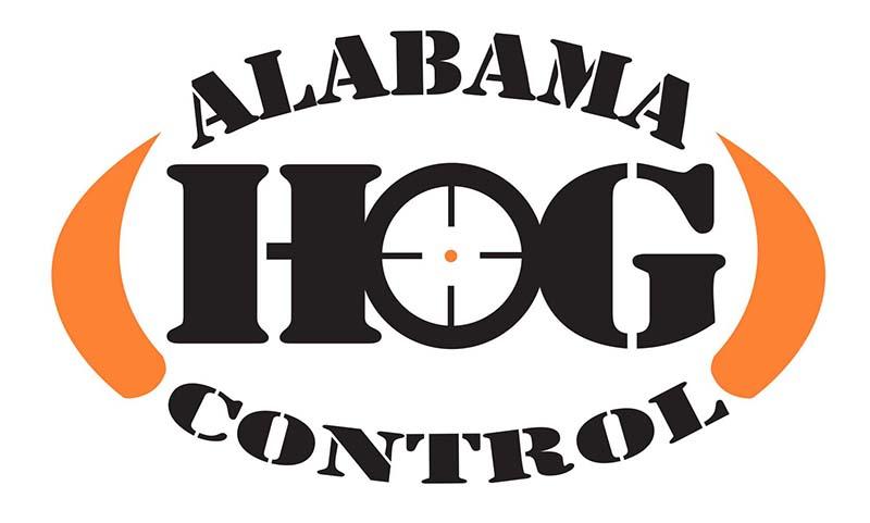 Alabama Hog Control Logo Design for Montgomery and Prattville Areas