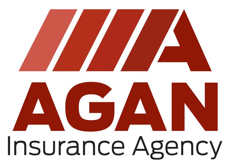 Agan Insurance Agency Custom Logo Design Pelham AL