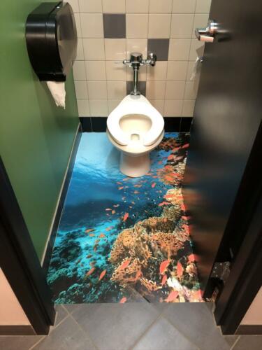 Washroom Floor