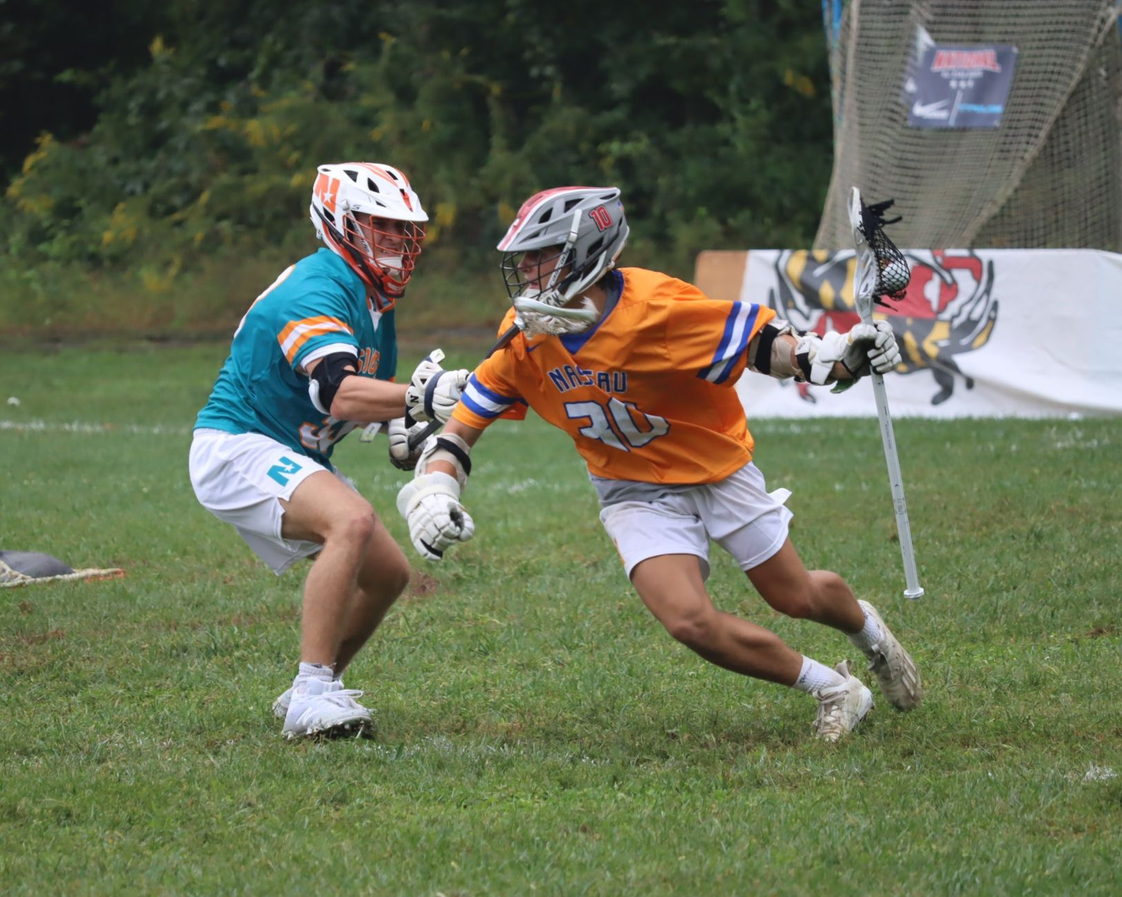 Matt Caputo, 2022 Standout Lacrosse Player at the National All Star Games in Baltimore, Maryland