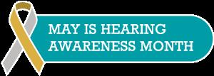 Hearing Awareness Month Logo