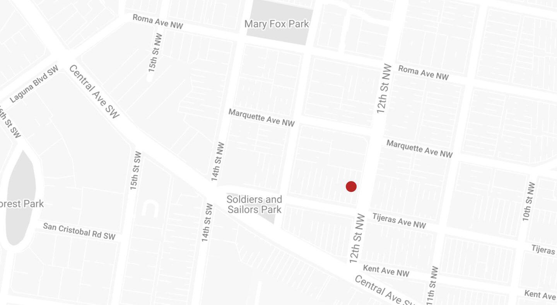 Albuquerque office location for Kennedy, Hernandez, & Associates.