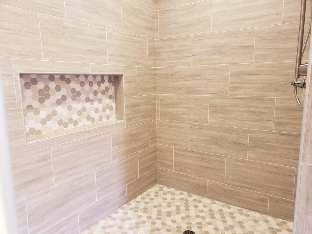 Super sized shower