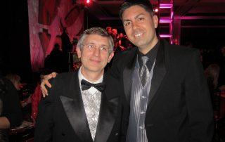 Bob and Scott at the Santa Clara Golden Circle