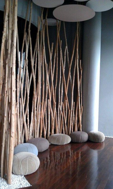 yoga room orange moon interiors