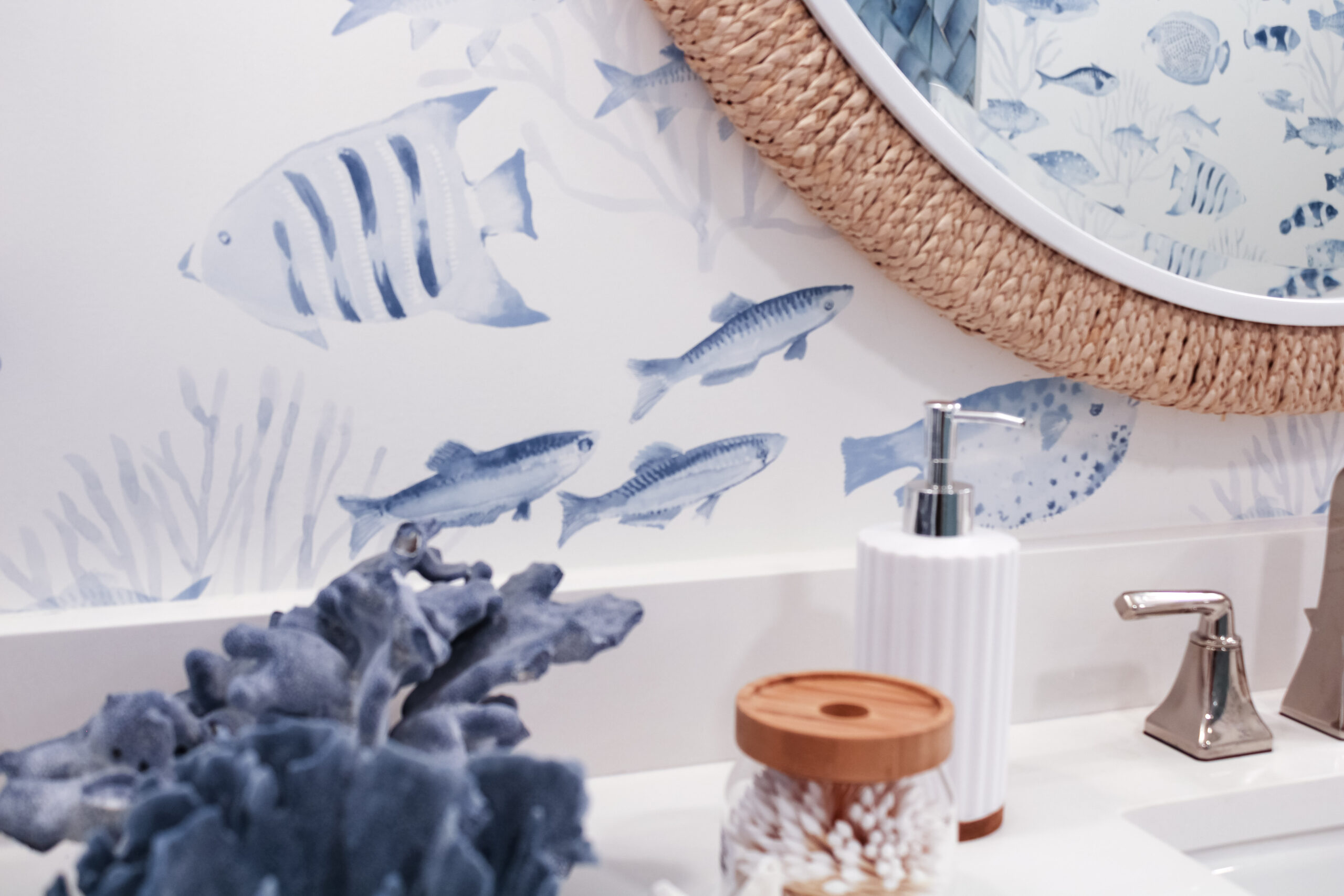 orange moon interiors guest bathroom longboat key