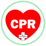 Icon for the American Heart Association classes - a heart with the word cross in the middle and a medical cross at the bottom of the heart.