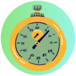 Icon for Testing - a graphic of a stopwatch