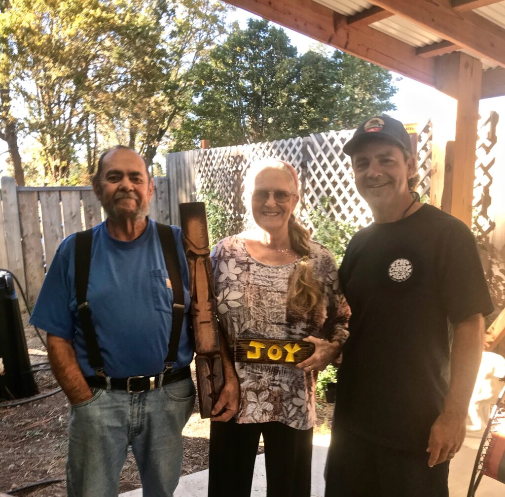 Tiki, JOY, and the best of times with my uncle and aunt, Tom and Judy Hammel