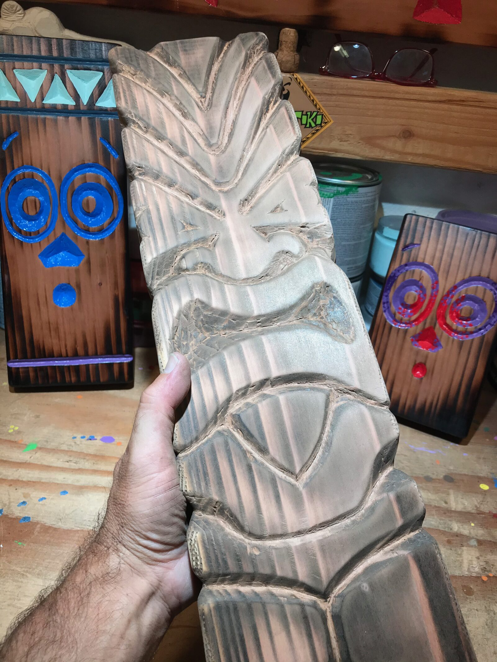 Tiki Planks by Cameron Tummel at Drum Tiki.IMG_8272 copy