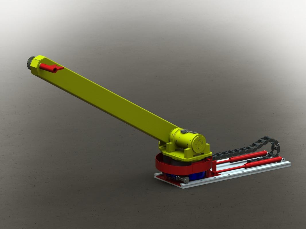 Drill Floor Manipulator Arm