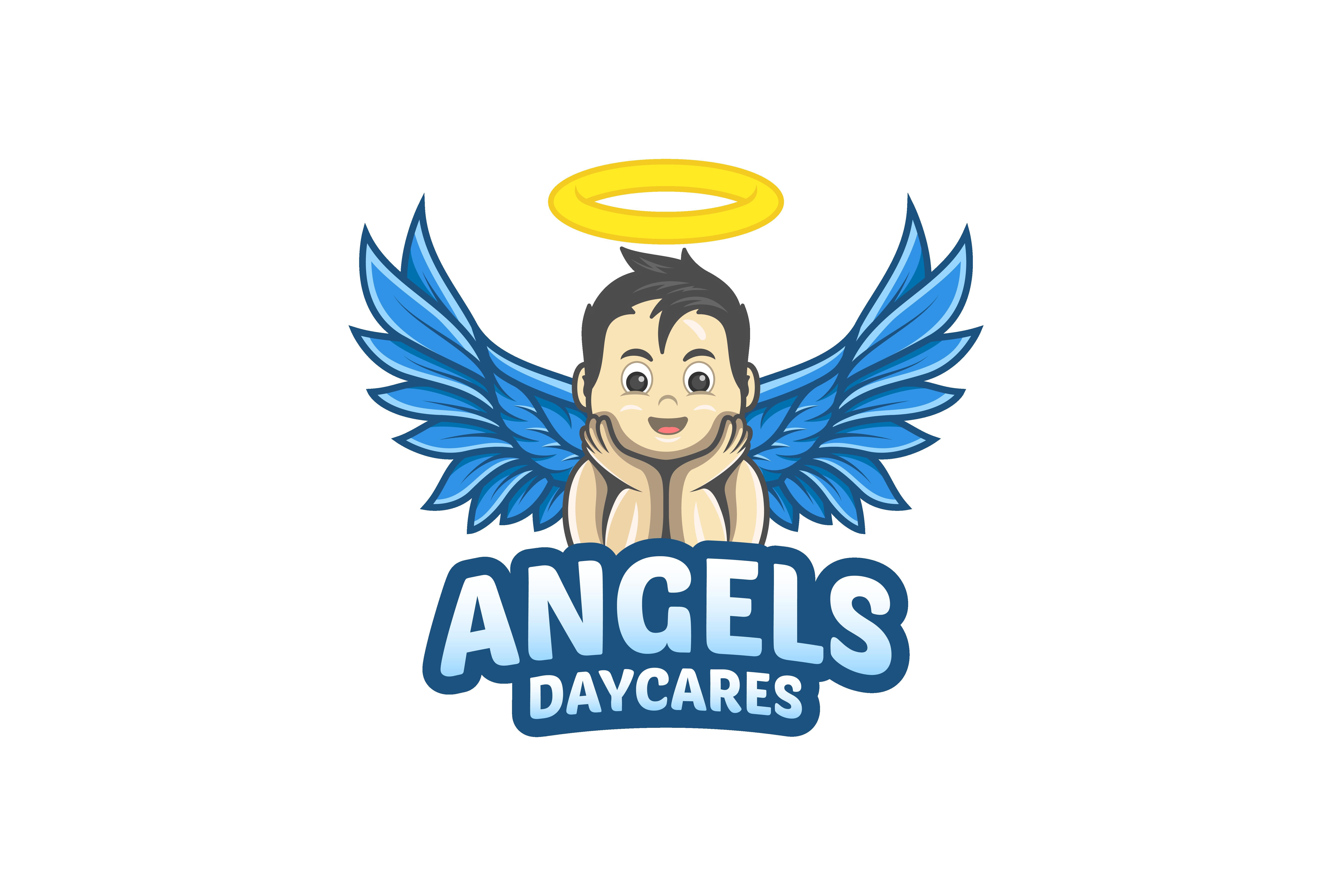 Angels Daycares Logo