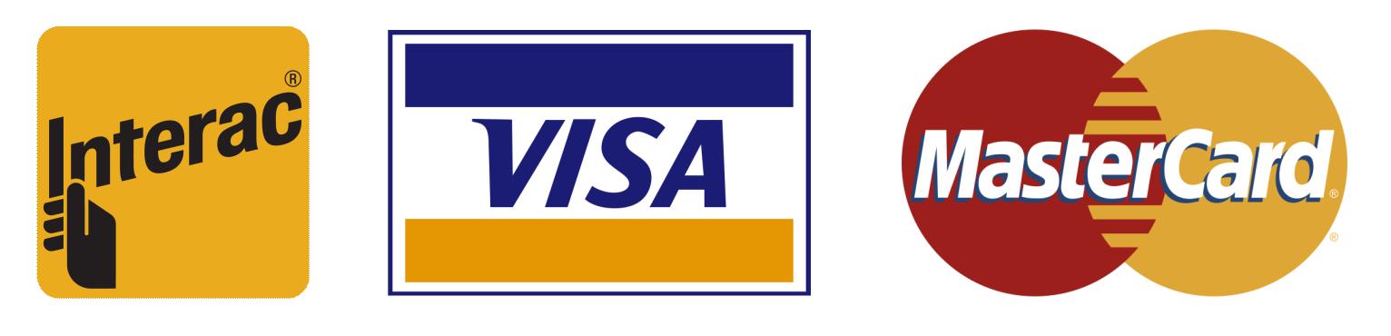 Visa, Debit, Mastercard