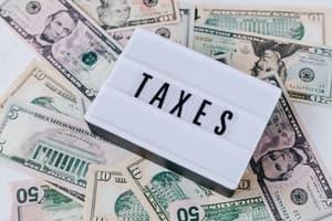 Cannabis Sales Tax Revenues