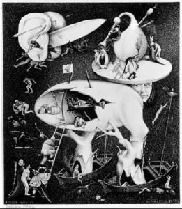 """MC Escher's """"Hell"""""""