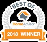 Best of Home Advisor 2018 Badge