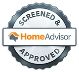 Home Advisor Screened and Approved Badge