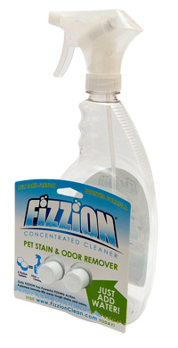 Got Odor? Get Fizzion the Pet Odor Remover