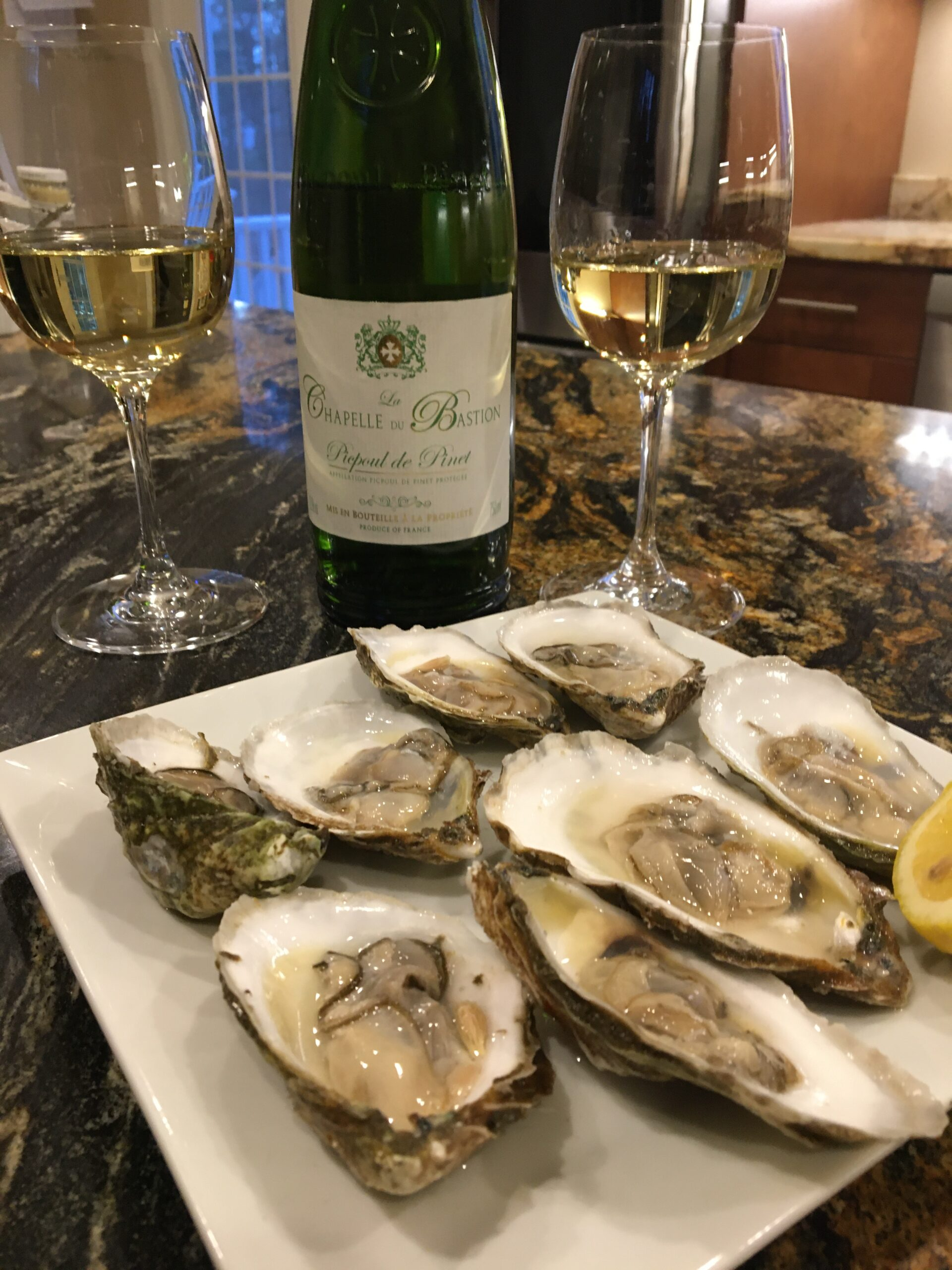 Picpoul southern france white wine