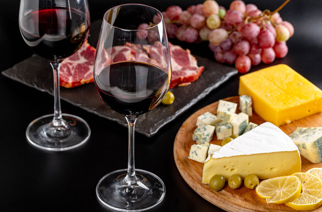 Have some cheese with that wine!