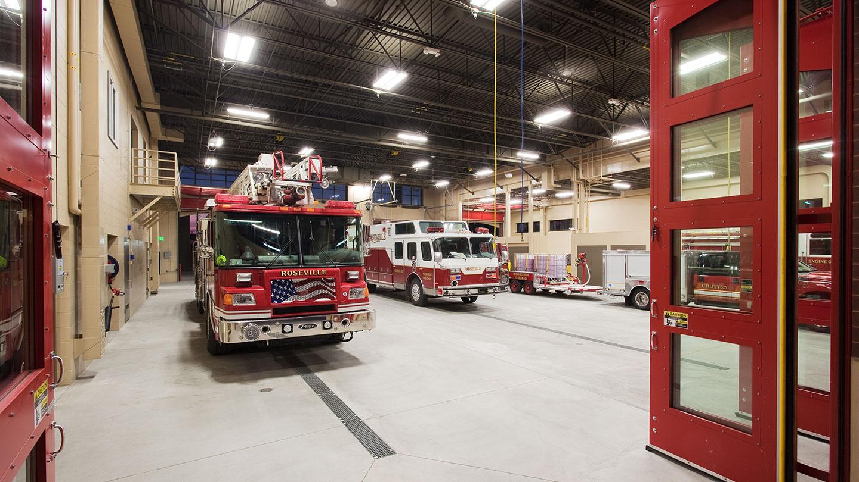 hu construction roseville fire station