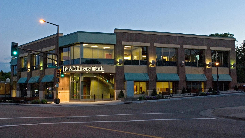 hu construction Park Midway Bank