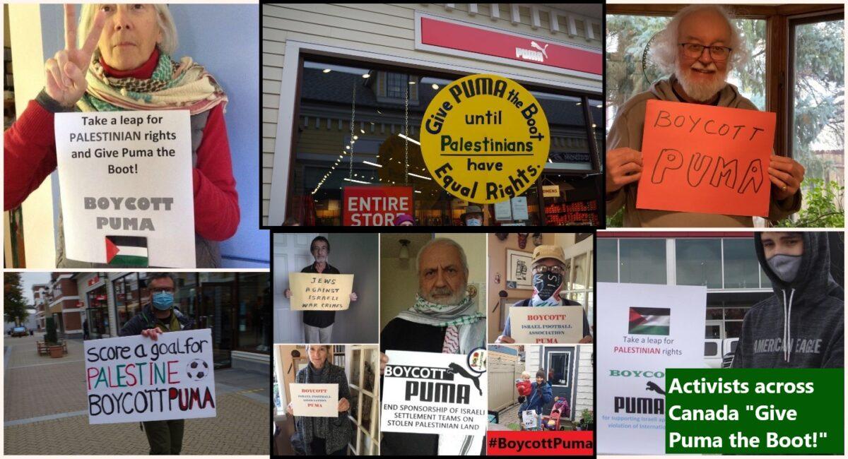 #BoycottPuma takes off in Canada