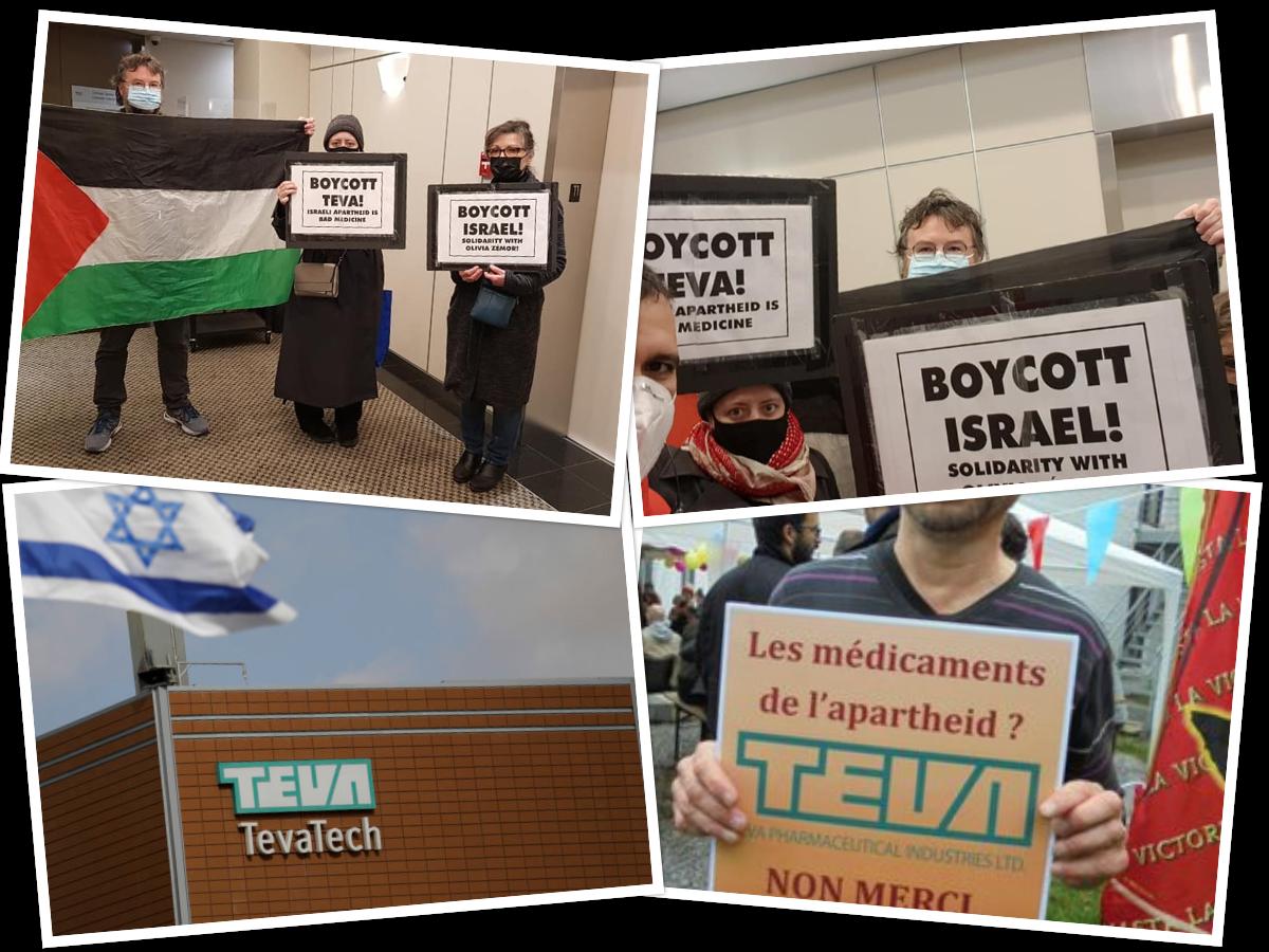 Boycott TEVA, Defend the Right to Boycott