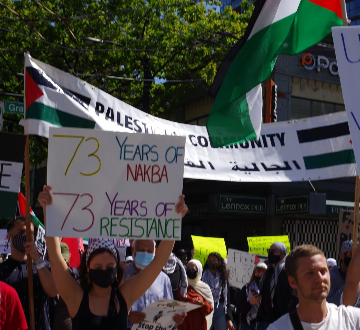 Vancouver comes out for Palestine in massive rally!