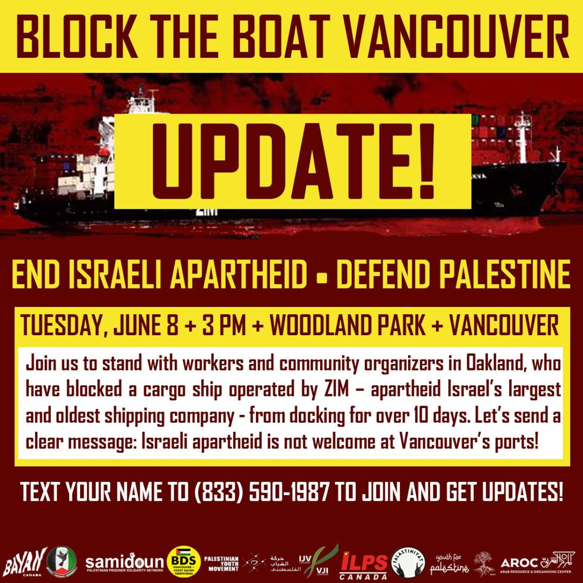 Block the Boat Vancouver