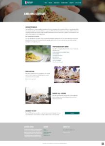 Baymark Website Catering
