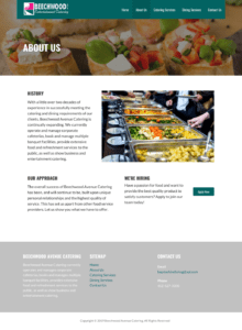 Beechwood Website About