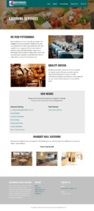 Beechwood Website Catering Services