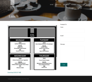 William Penn Place Website Lunch