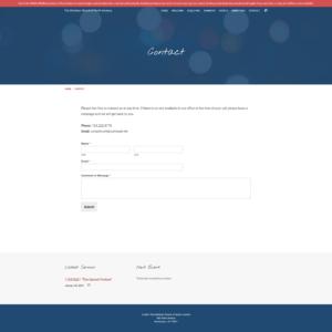 CCNA Website Contact