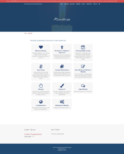 CCNA Website Ministries