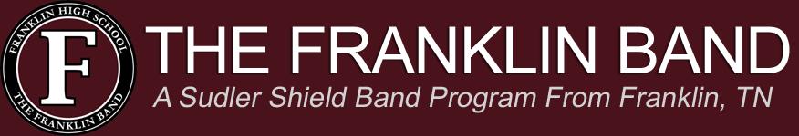 THE FRANKLIN HIGH SCHOOL BAND