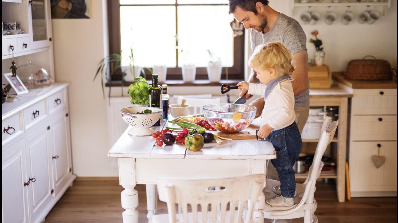 Skills Kids get in Kitchen