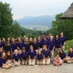 2009 group outside village
