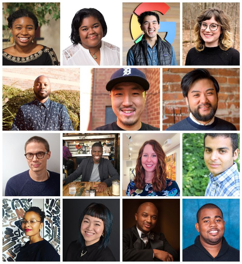 grid collage with headshots of CultureMakers