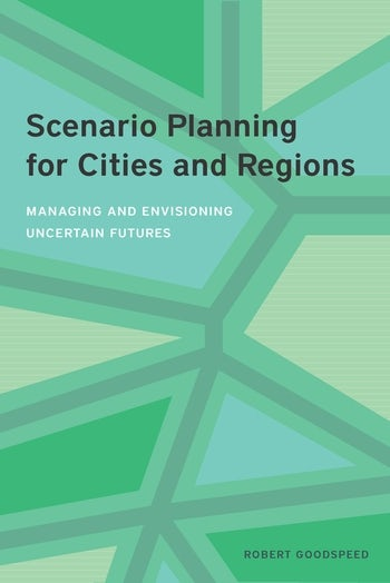 Book cover of Scenario Planning for Cities and Regions