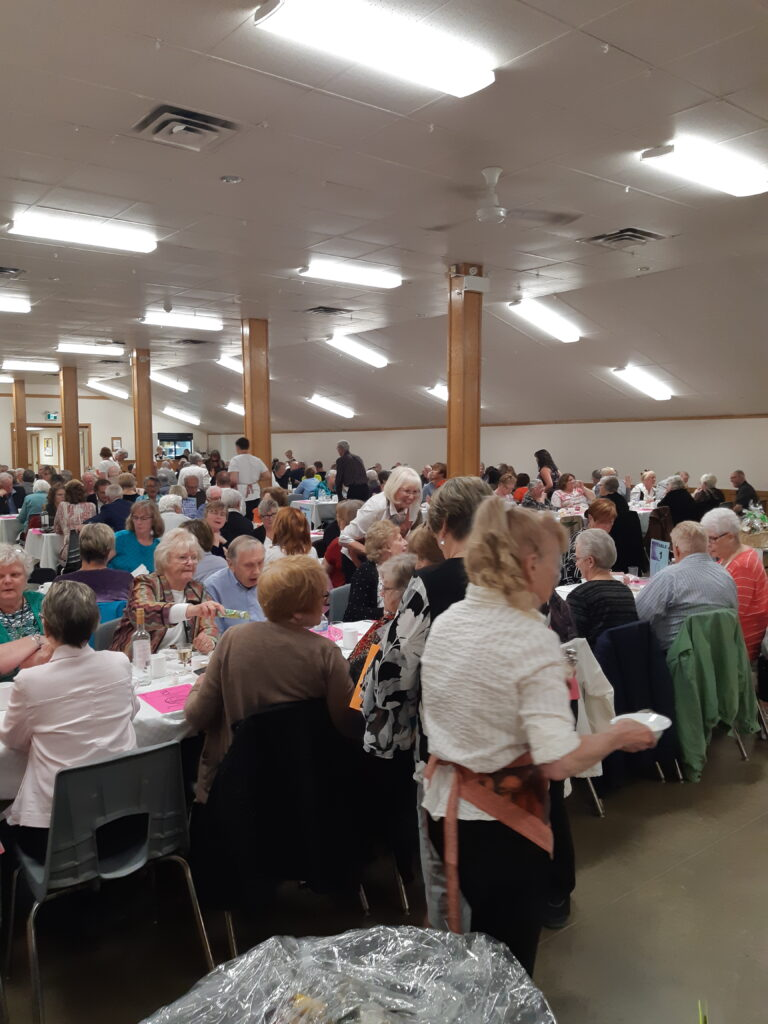 Great fun at the Spring Fling dinner and auction