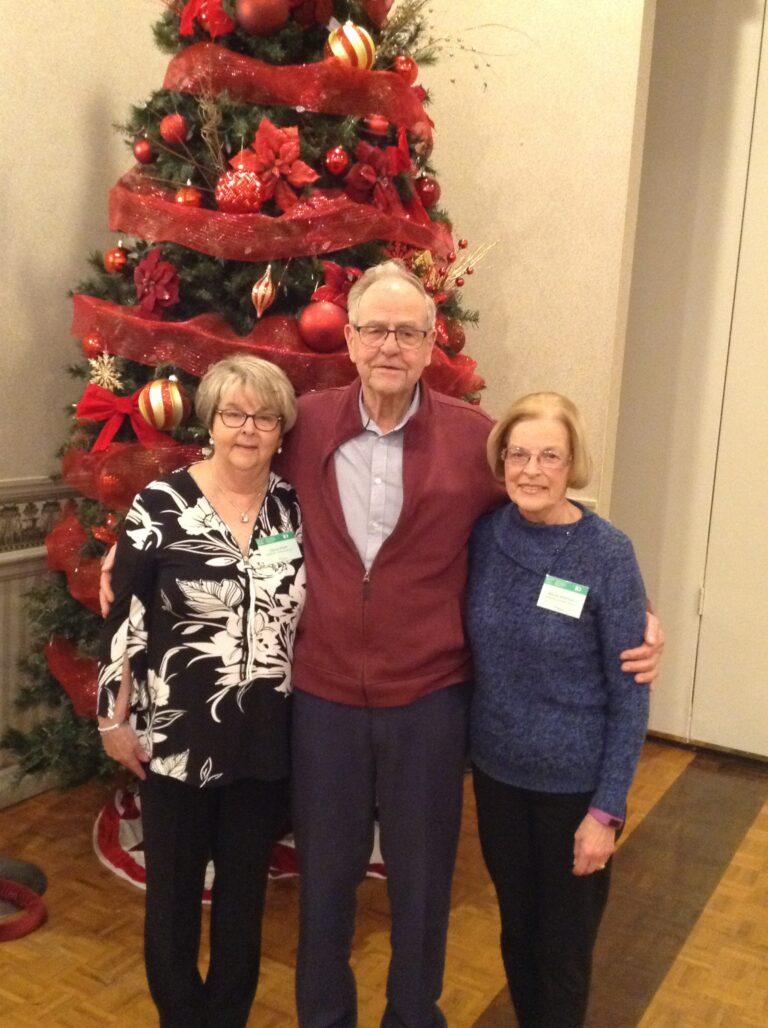 Dianna, Fritz & Wendy receiving their Ontario Volunteer Service Award