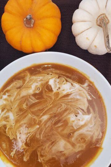 Pumpkin soup recipe, vegan pumpkin soup recipe, plant based pumpkin soup recipe, oil free soup recipe, dairy free soup recipe, soup recipe, vegan recipe, plant based recipe, kid friendly vegan dish, kid friendly dish, mom approved dish, family vegan dinner ideas, soup, pumpkin recipe, soy free vegan recipe, soy free recipe, sandwich and soup recipe, fall recipe, autumn recipe, savory vegan dish, sweet and savory vegan dish, creamy vegan soup recipe, creamy vegan pumpkin soup recipe, delicious soup recipe, quick and easy vegan dish, quick and easy plant based recipe, eat your veggies, plant based, wfpb, wfpbno, vegan pumpkin dressing recipe, vegan pumpkin dressing