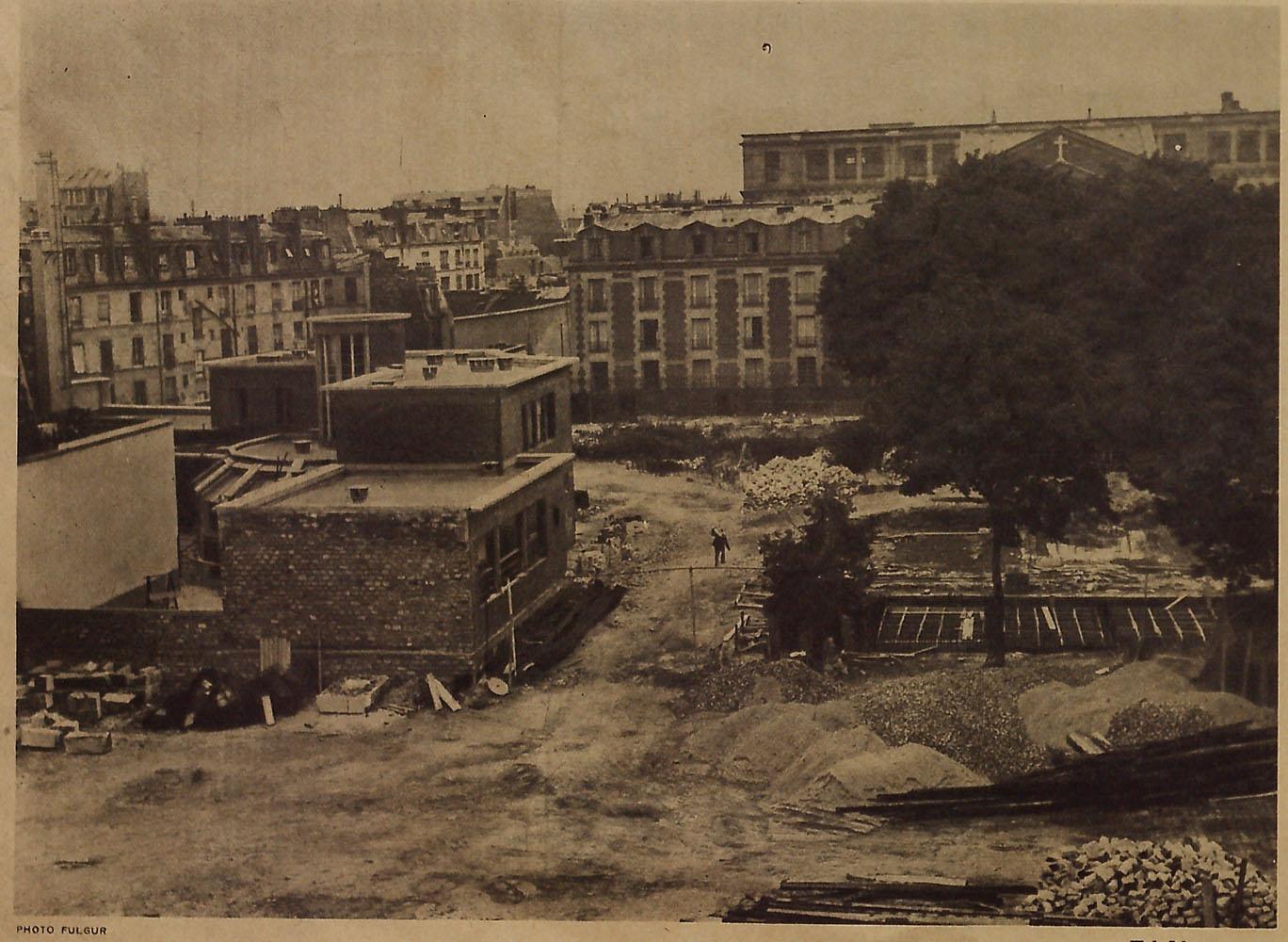 Demolition of Lazare