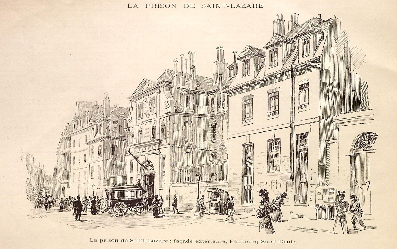 Prison Saint-Lazare, Façade