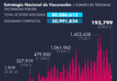 AGUASCALIENTES CERCA DEL 80% EN LA COBERTURA DE VACUNACIÓN CONTRA EL COVID-19