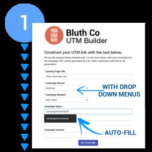 Customized UTM builder by UTMSmartManager