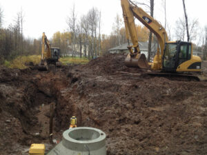 peterson-excavating-and-landscaping-duluth-minnesota-drainage-sewer-line